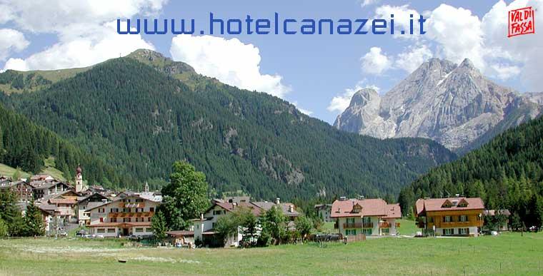 Tutti hotel di Canazei in Val di Fassa nelle Dolomiti del Trentino